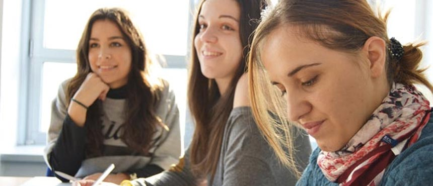 Alumnos clases intensivas alemán