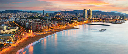 Vista área Barcelona