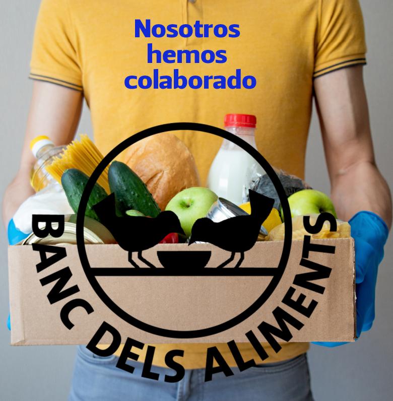 Humboldt colabora con el @BancDelsAliments para atender a la emergencia alimentaria que se ha agravado por el Covid19